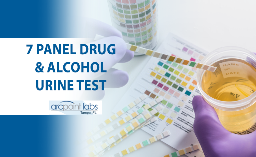 7 panel drug and alcohol urine test