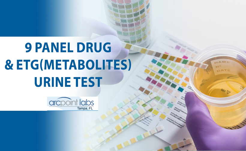9 panel drug and etg urine test
