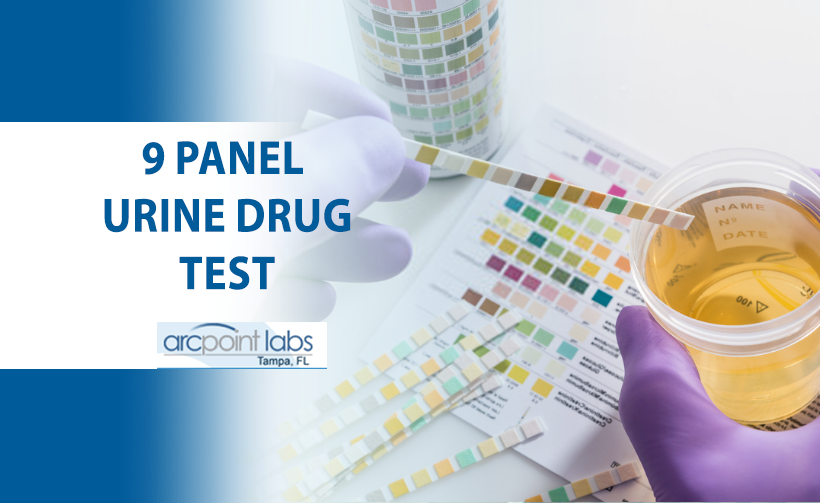 9 panel urine drug test