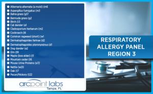 Respiratory Allergy Panel Northern FL