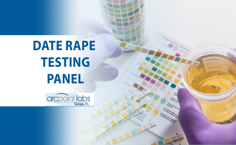date rape testing panel