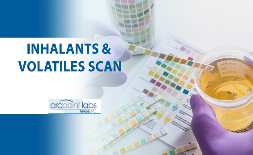 inhalats and volatiles scan