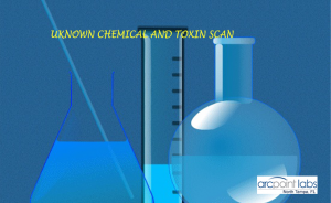Unknown Chemical and Toxin Scan