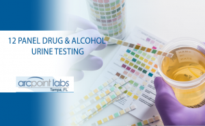 12 Panel Drug and alcohol urine test