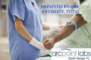 HEPATITIS B CORE ANTIBODY, TOTAL