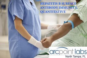 HEPATITIS B SURFACE ANTIBODY IMMUNITY, QUANTITATIVE